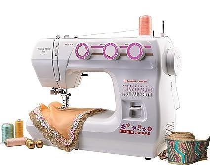 357b264db72 Usha Janome Wonder Stitch Plus Automatic Sewing Machine: Amazon.in: Home &  Kitchen