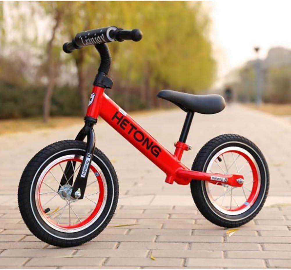 ZXDBK Bicicleta de Equilibrio, Bici Sin Pedales Niño Aleación de Aluminio Carreras Versátiles 2 3 4 5 6 años niños niñas