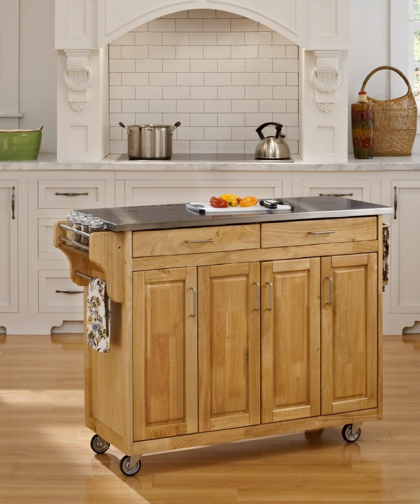 Amazon.com   Home Styles 9200 1043 Create A Cart 9200 Series Cabinet Kitchen  Cart With Gray Granite Top, Black Finish   Kitchen Islands U0026 Carts