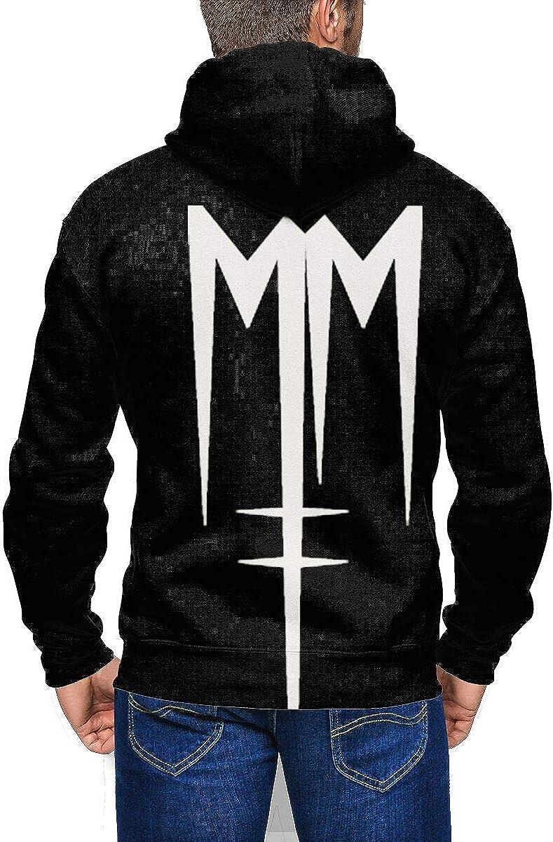 Marilyn Manson lamb of god Thicken Hoodie warm coat Sweatshirt Zipper Jacket