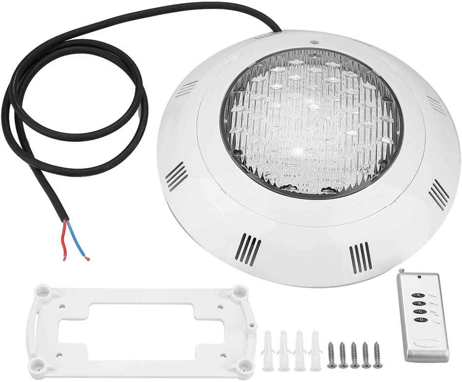 30W 3 LED RGB Piscina Subacuática Luz Brillante con Florero de Control Remoto Base Pond Garden Fiesta Socialme-EU