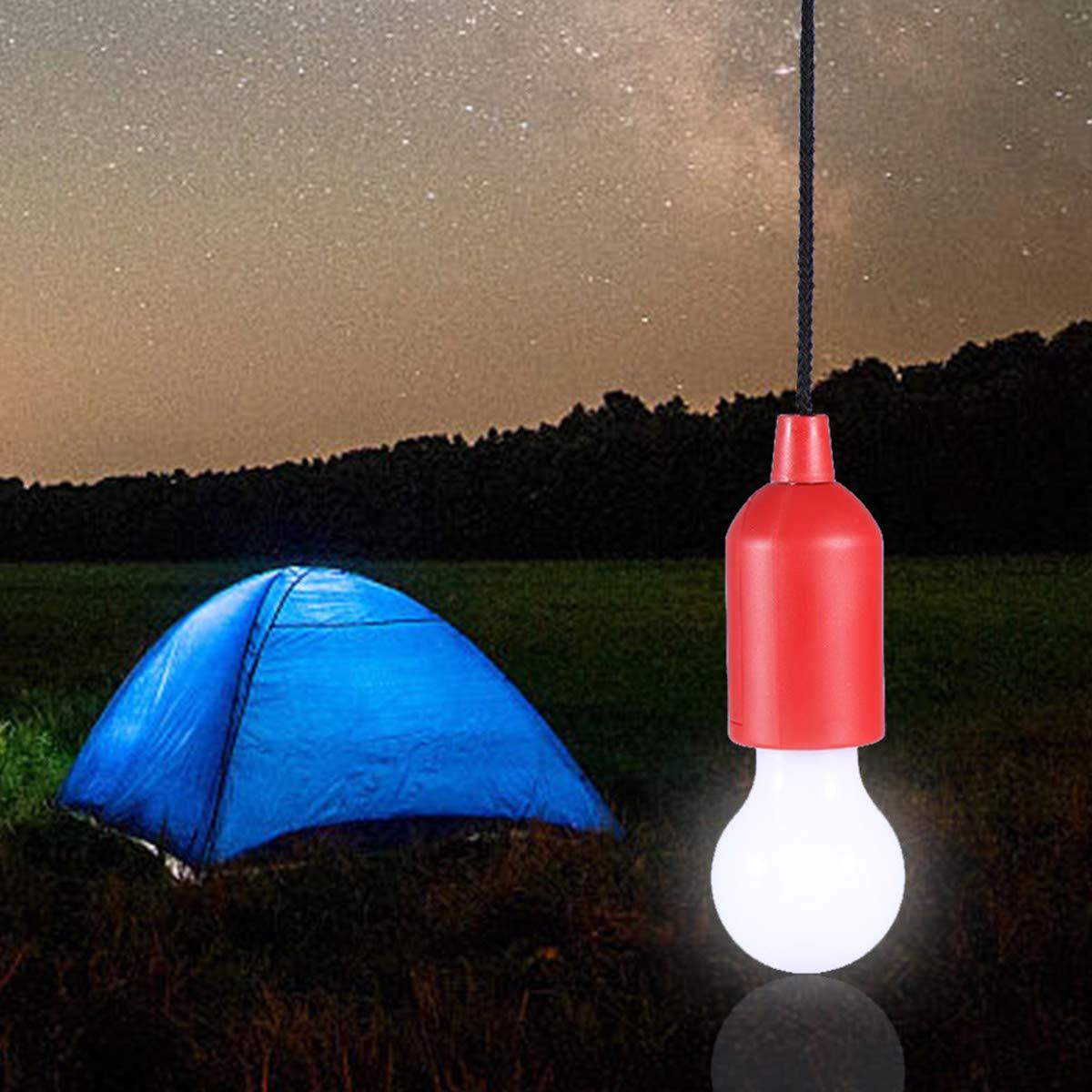 Trendfinding Batteriebetriebene Led Lampe Mit Zugschalter