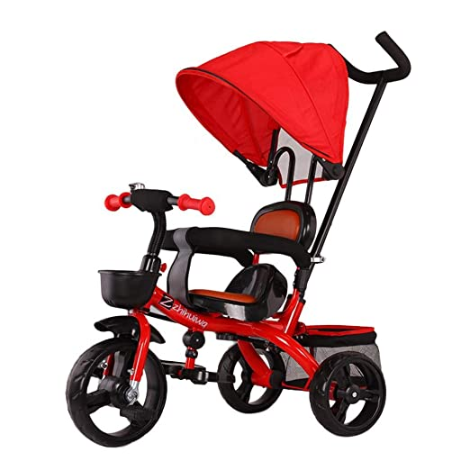 WYX-Stroller Cochecitos De 3 Ruedas, Triciclo para Niños para ...