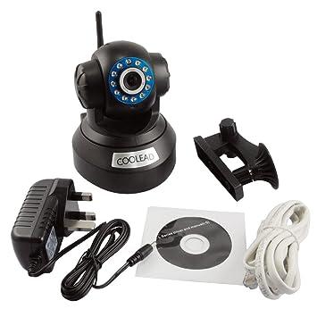 Foscam - Videocámara de seguridad inalámbrica (conexión por WLAN, visor nocturno, con micrófono y altavoz): Amazon.es: Bricolaje y herramientas