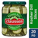 Claussen Dill Sandwich Slice Pickles, 20 oz