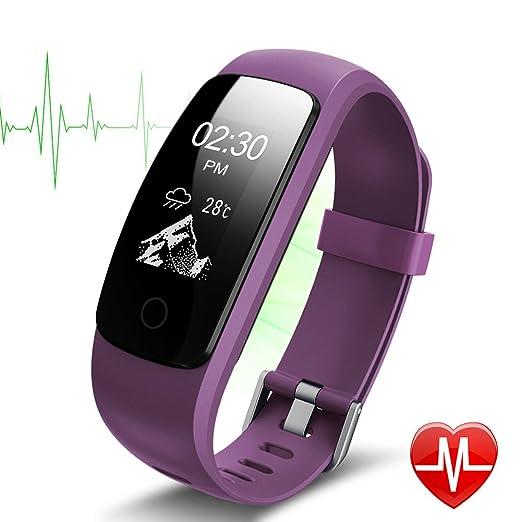 59 opinioni per Fitness Tracker, Lintelek Orologio Cardiofrequenzimetro Fitness Braccialetto