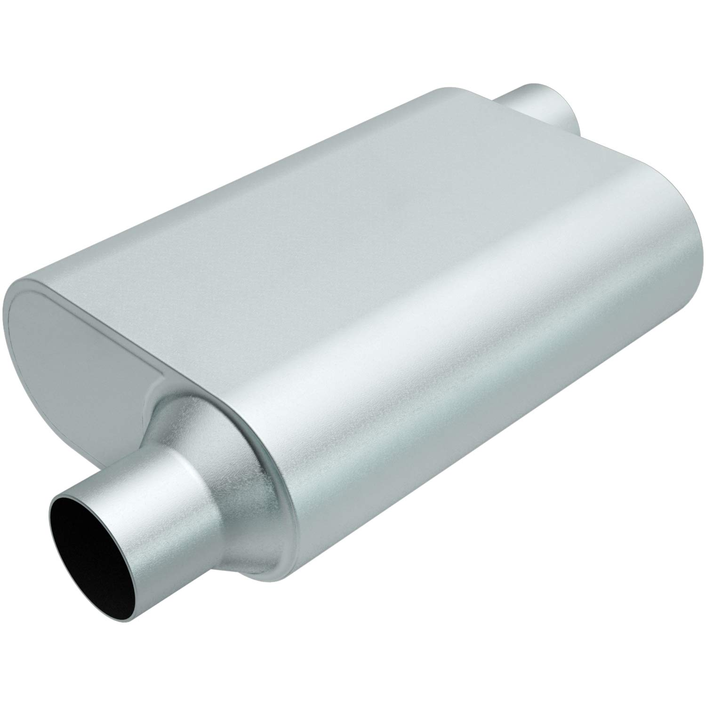 Rumble R22443 Exhaust Muffler (RUMBLE 13X4.25X9.5 2.25/2.25 O/O)