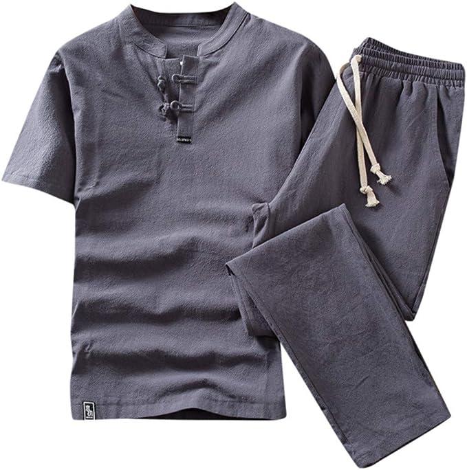 BOBOLover Conjunto de pantalón Corto de algodón de Color sólido ...
