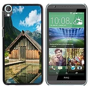 "For HTC Desire 820 , S-type Cabinas Lake"" - Arte & diseño plástico duro Fundas Cover Cubre Hard Case Cover"