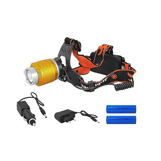 LTC - Linterna LED con cargador LTL LL46, Naranja: Amazon.es ...