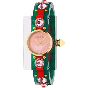 977d33263da Image Unavailable. Image not available for. Color  GUCCI Vintage Web Ladies  Watch YA143525