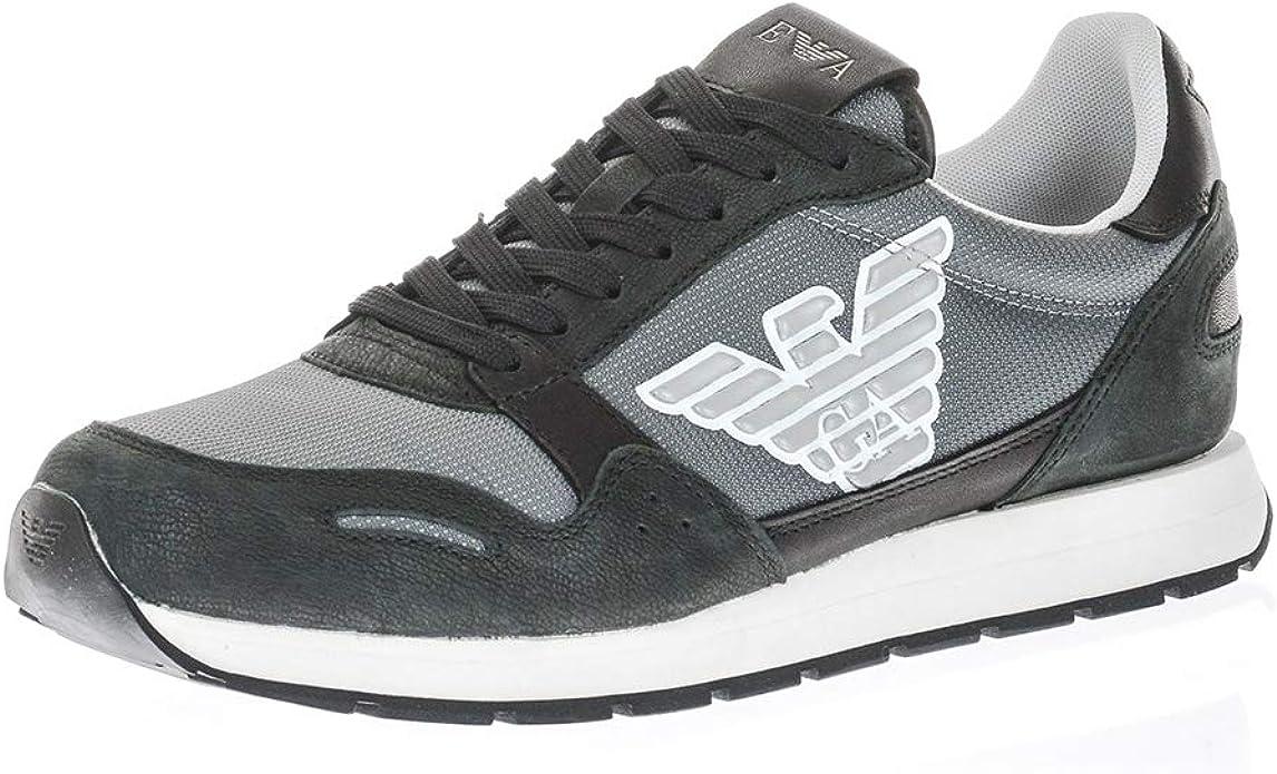 Emporio Armani Sneaker X4X215-XL199 Hombre: Amazon.es: Zapatos y complementos