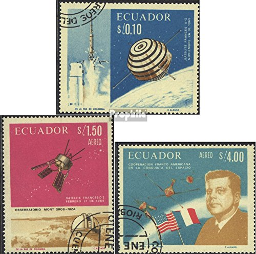 Ecuador 1283-1285 (Complete.Issue.) 1966 Space (Stamps for Collectors) Space