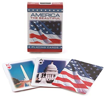 Bicycle American Themed Poker Size Standard Index Playing Cards