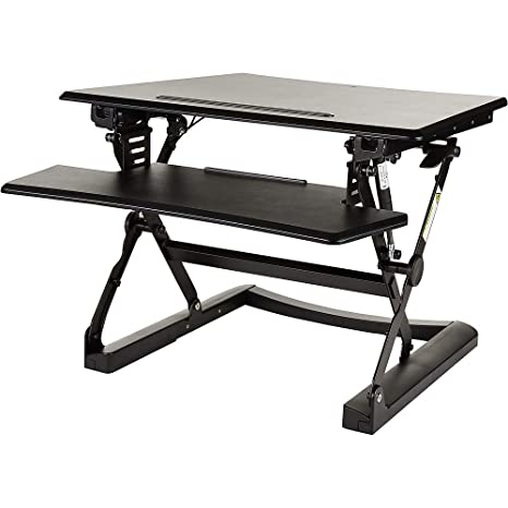 Staples 2447503 Sit To Stand Adjustable Desk Riser 27 Inch