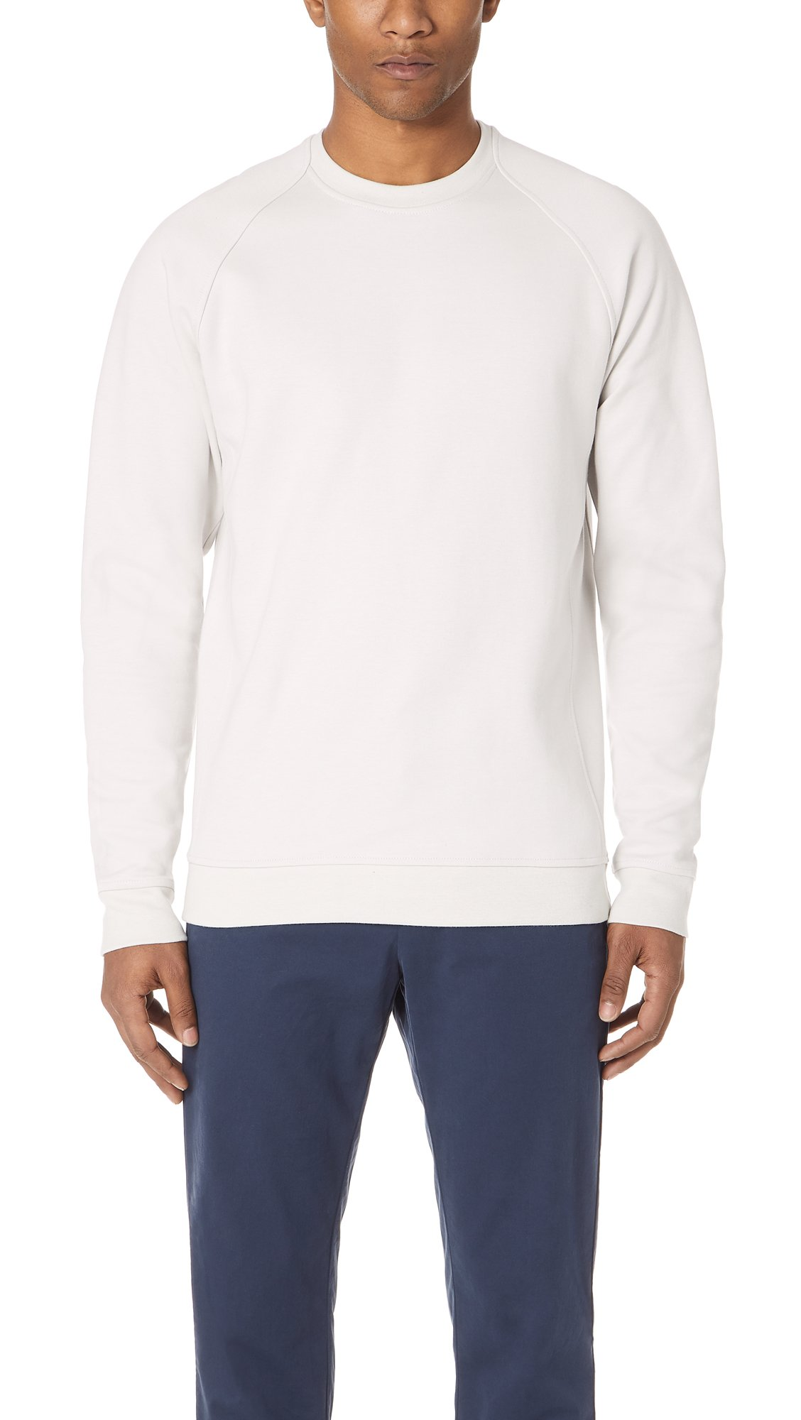 Norse Projects Men's Ketel Dry Mercerized Top, Kit White, Small