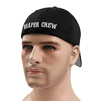 Adult Biker TV Show SOA Sons of Anarchy Reaper Crew Baseball Cap Hat Fashion New
