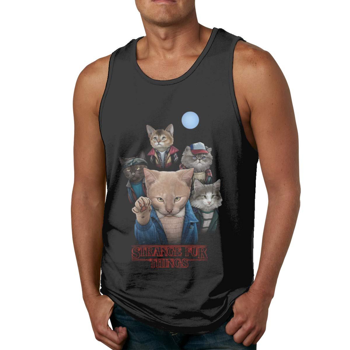 Seuriamin Strange Fur Things S Classic Running Sleeveless Tank Top T Shirts