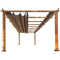 STC PRN160 11 x 16 ft. Florence Aluminum Pergola
