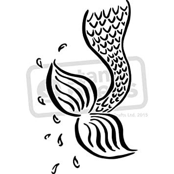 Modern Mermaid Tail Template Photo Resume Ideas