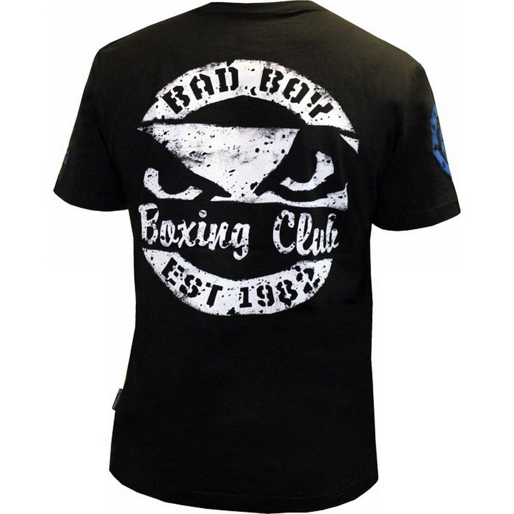 Bad Boy T-Shirt Boxing Club MMA BJJ Fitness Manche Courte Homme