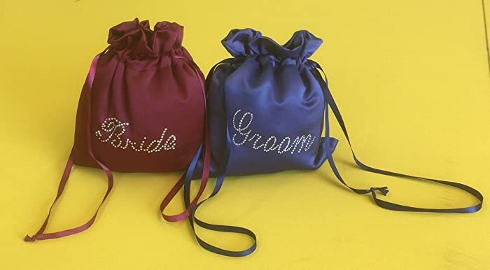 Image Unavailable. Image not available for. Color  Custom Made Money Bags  for Wedding Day Dollar Dance 30664e378e2ee