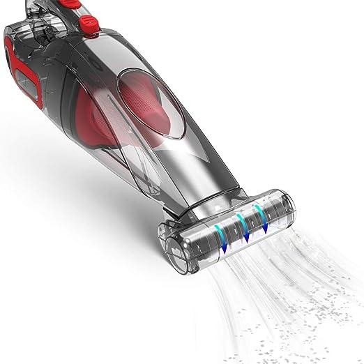 Dibea Aspirador de mano Inalámbrico Ligero Recargable para Hogar Cepillo Motorizado Cepillo Motorizado para Coche de Mascotas, BX350: Amazon.es: Hogar