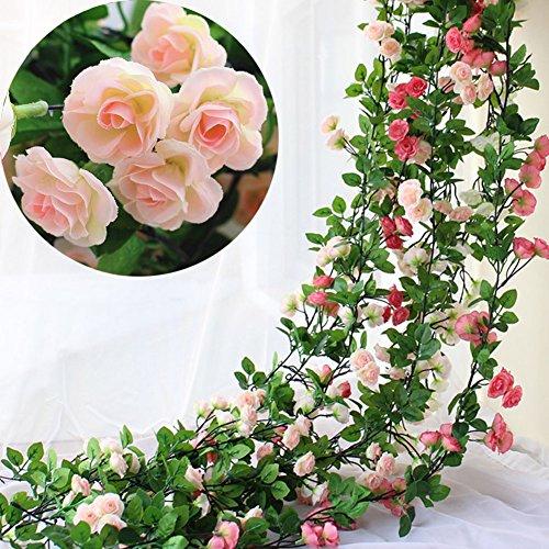 Artificial Silk Kissing Flower Ball Bouquet Wedding (light green) - 1