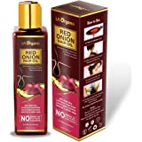 LA Organo Red Onion Hair Oil For Complete Hair Solution For All Hair Types, 200ml