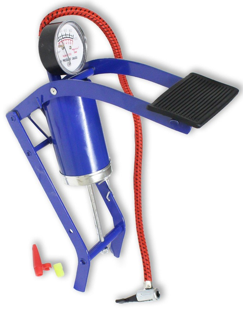 SCURRY: Deluxe Foot Pedal High Pressure Foot Operated Pump