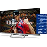 TD Systems Televisor Smart TV Android 9.0 y HBBTV, 800 PCI Hz, 3X HDMI, 2X USB. DVB-T2/C/S2, Modo Hotel - K32DLX11HS…