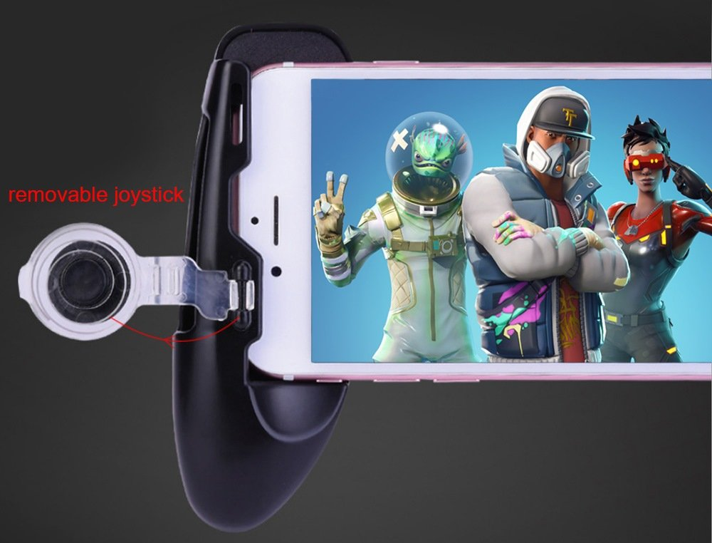 Mobile Game Controller and Gamepad, Sensitive Shoot and Aim Trigger Fire Button, Gamepad for Fortnite/PUGB / Rules of Survival, Mobile Gaming Joysticks for Android IOS by Fitoplay (Image #8)