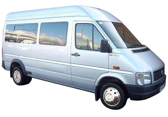 Juego de tapacubos 15 Acero Inoxidable + válvula Extensiones Zwilling Neumáticos (1996 - 2006) Transporter Caravana: Amazon.es: Coche y moto