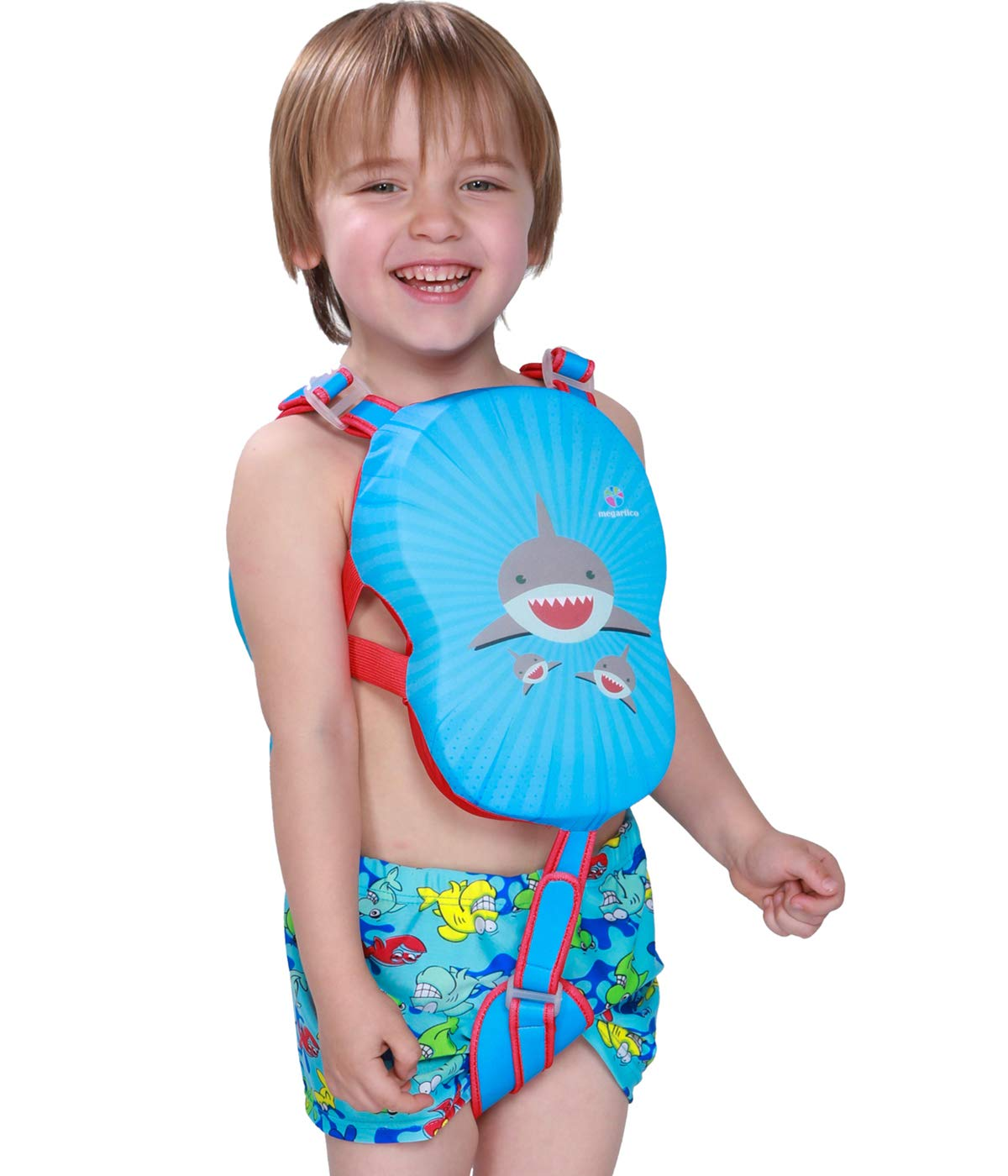 enjoying your shopping : Megartico Kids' Swim Vest Swim Trainer ...