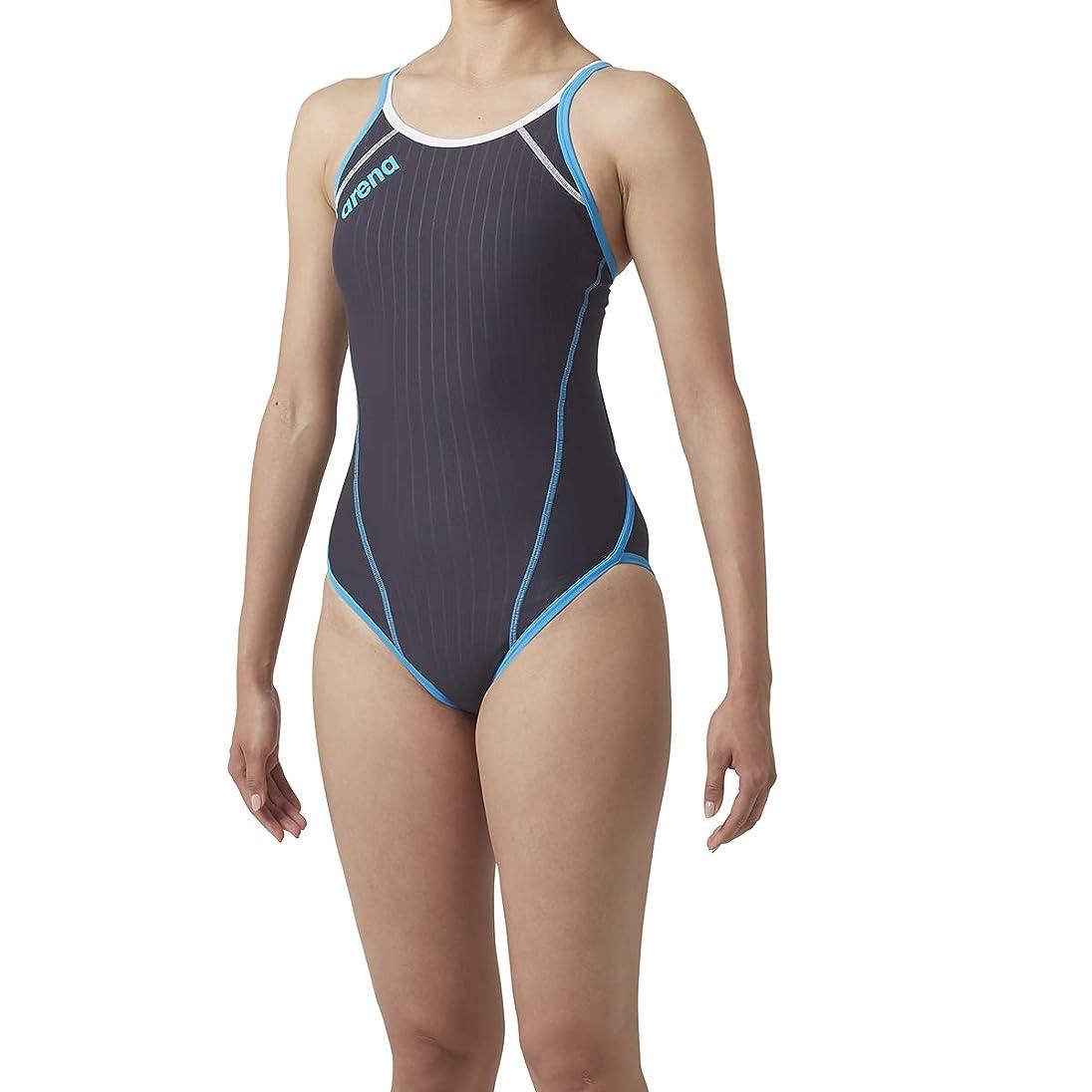 乳首尾一貫した階段Speedo(スピード) ガールズ 競泳水着 ワンピース フレックスゼロ SD36B07