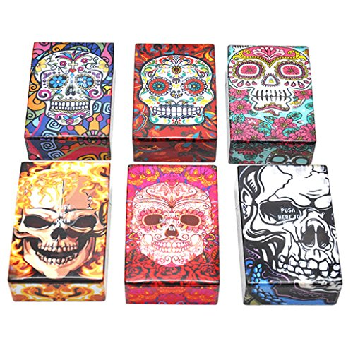 GaoCold Portable Plastic Cigarette Case , Tobacco Box 1 Pack, Random pattern ()