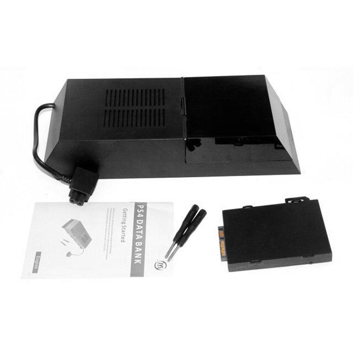 Jullyelegant Casella disco rigido PS4 Caso di espansione disco rigido esterno per disco rigido Extender Caso di espansione disco rigido SATA Supporto HDD da 3, 5 pollici