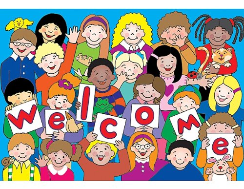 Teacher Created Resources Kids Welcome Postcards (4077) by Teacher Created Resources