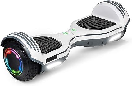 Amazon.com: SISIGAD Hoverboard Patinete autoequilibrante de ...