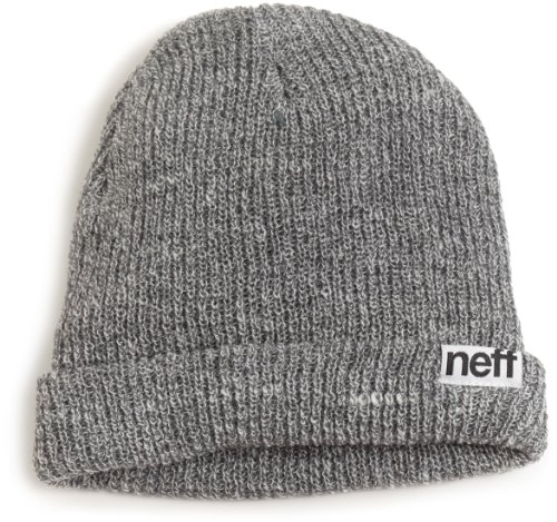 neff fold beanie Hat, -grey, One - Street Shops Newbury