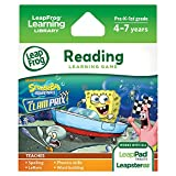 Image of LeapFrog SpongeBob SquarePants: The Clam Prix Learning Game (works with LeapPad Tablets, Leapster GS, and Leapster Explorer)