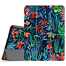 Fintie Samsung Galaxy Tab S2 9.7 Slim Shell Case - Ultra Lightweight Stand Cover with Auto Sleep/Wake Feature for Samsung Galaxy Tab S2 Tablet, Jungle Night