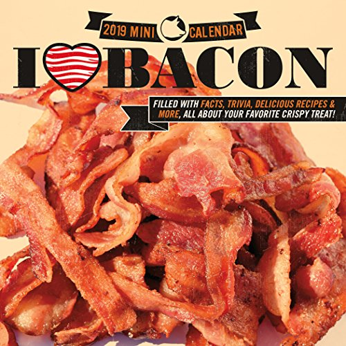 Bacon 2019 12 Month Mini Calendar by Mike Fromstein