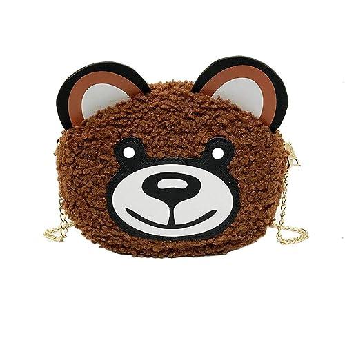 Borsa a tracolla donna barlingrock cartone animato borsa orso