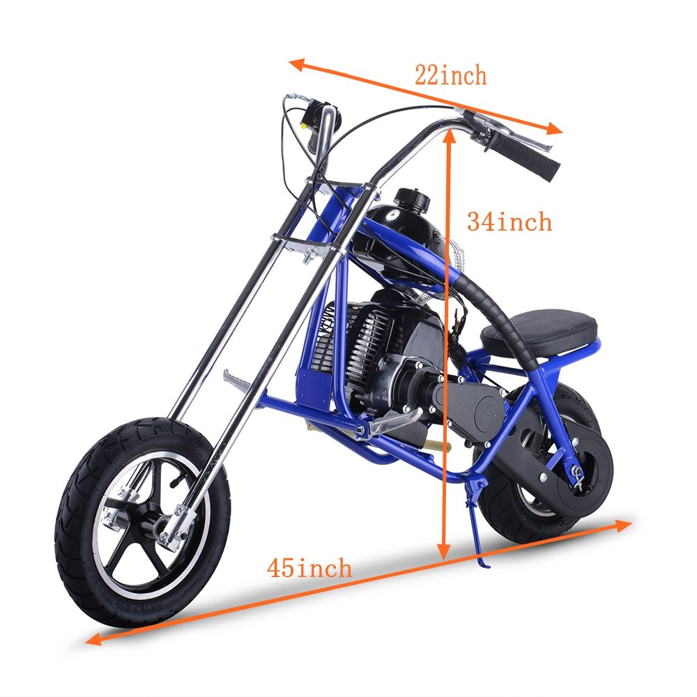 Amazon.com: Say Yeah Gas Scooter 49 cc 2 tiempos Mini Dirt ...
