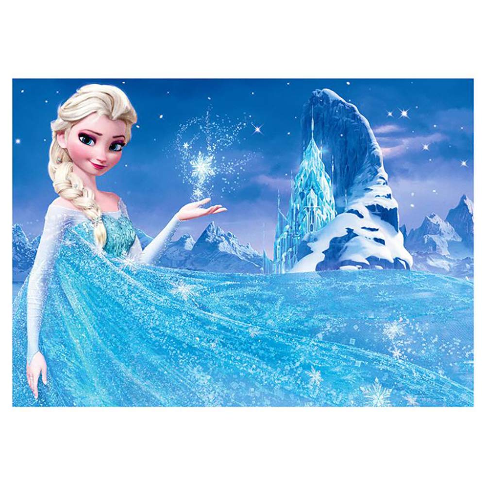DIY 5D Diamond Painting Kits for Adults Full Drill Embroidery Paintings Rhinestone Pasted DIY Disney Painting Cross Stitch Arts Crafts for Home Wall Decor 30x40cm//11.8/×15.7Inches Frozen Elsa