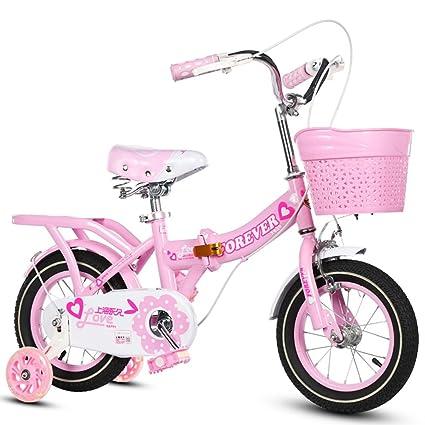 YON JIU Doble bicicleta, niños y niñas Bicicleta Bicicleta ...