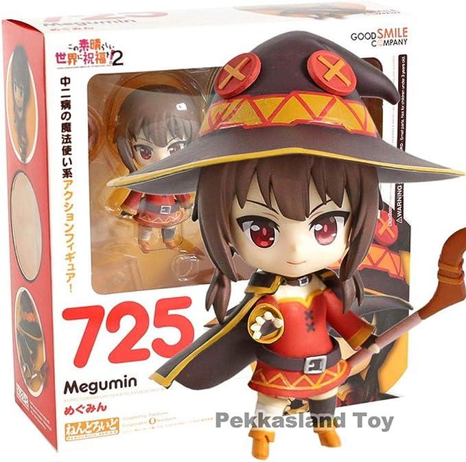 Anime Nendoroid 725 Konosuba MEGUMIN Action PVC Figure New IN Box 10cm