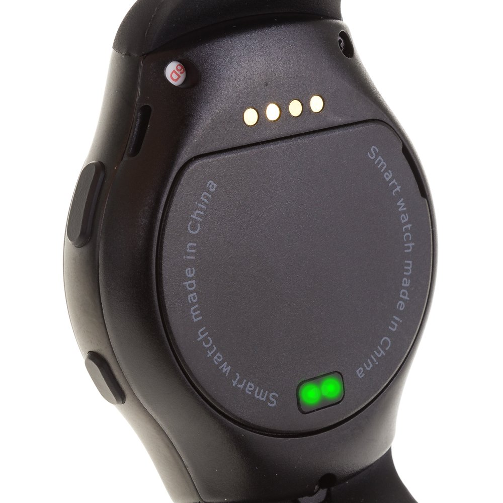 DAM - Smartwatch G3 Sim Card Black. Posibilidad de tarjeta SIM y micro SD de hasta 32GB. Realiza llamadas independientes al smartphone (necesaria SIM ...