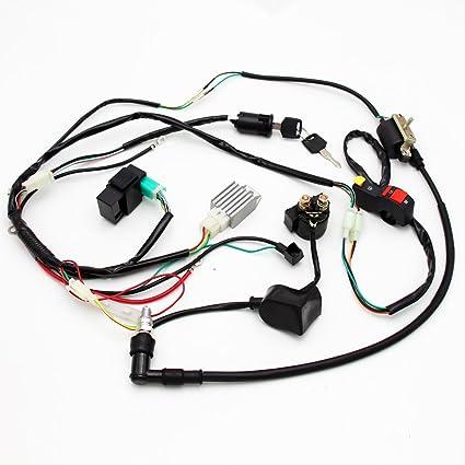 Arnés eléctrico de arranque de cables para Pit Bike ATV 50 cc 70 ...